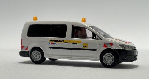 Rietze 52716-1 VW Caddy Maxi Betriebsaufsicht BVG, gelbe Warnlichter
