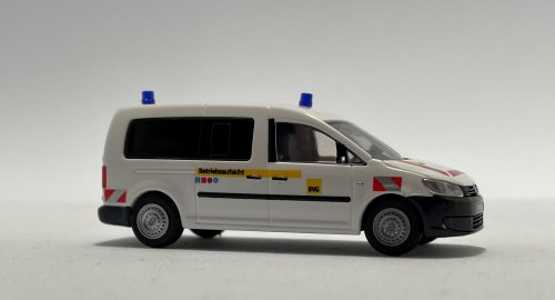 Rietze 52716-2 VW Caddy Maxi Betriebsaufsicht BVG, blaue Warnlichter