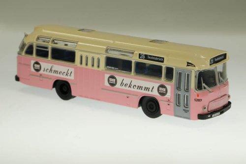 Stadt im Modell 10146 Magirus Deutz Saturn II Schnellbus IDEE Kaffee