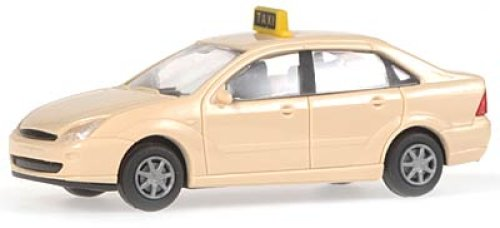 Rietze 30990 Ford Focus Stufenheck Taxi