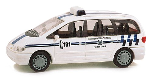 Rietze 50742 Ford Galaxy Politie Genf (BE)