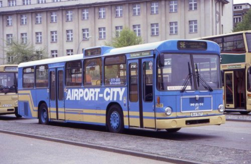 Rietze 7235X-2 MAN SL 200 BVG Berlin Airport City - Wagen 1527