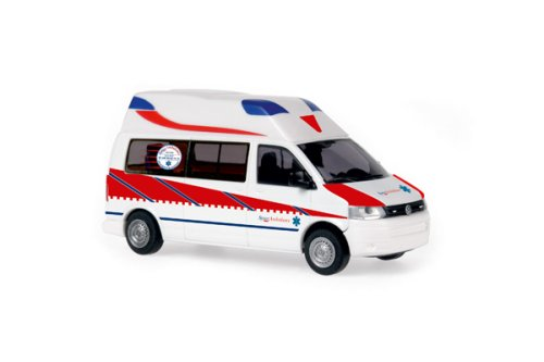 Rietze 53603 Ambulanz Mobile Hornis Silver Spree Ambulance