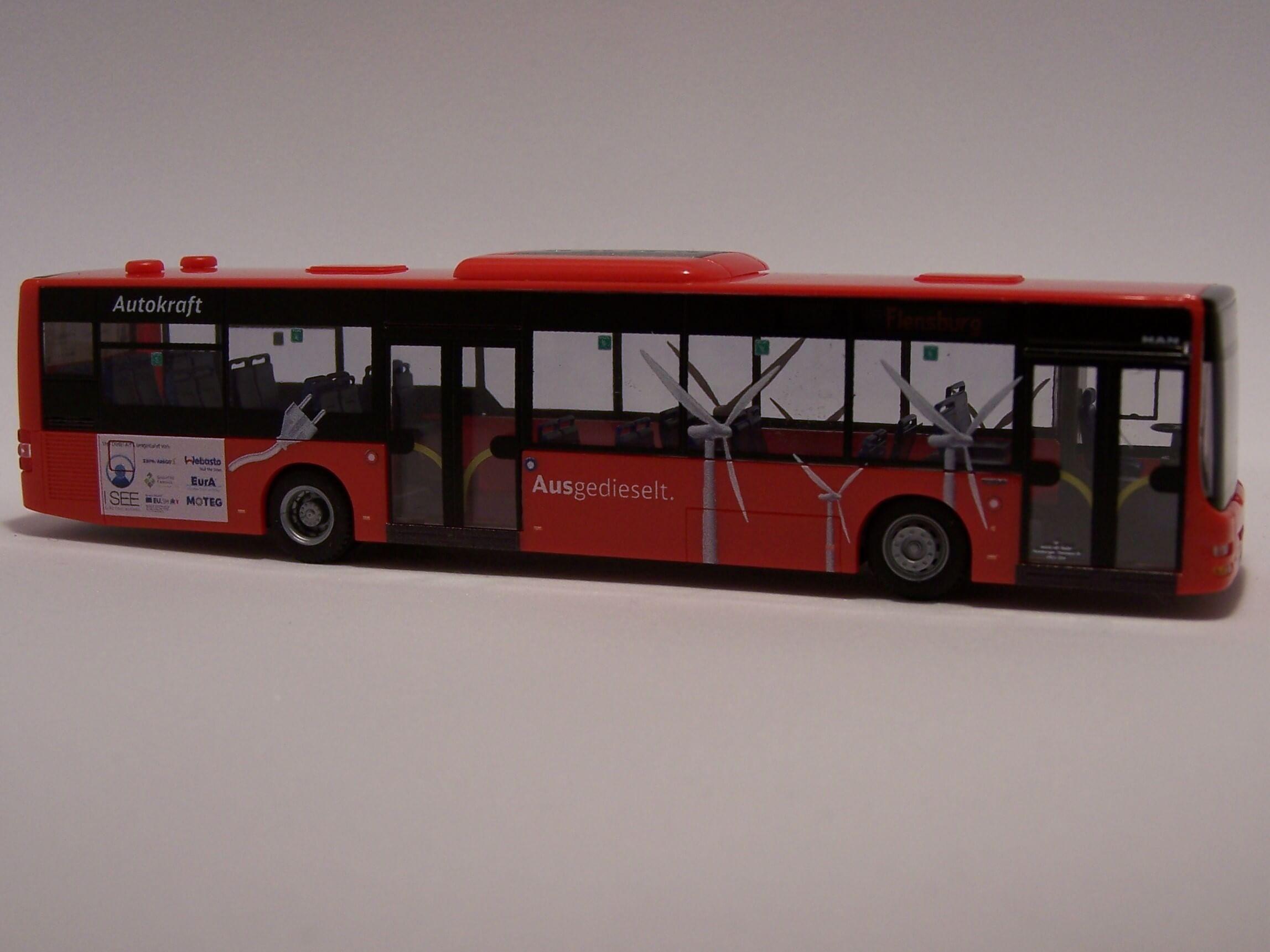 Rietze Stadtbus MAN Lions City´15 DB Autokraft Kiel 73912