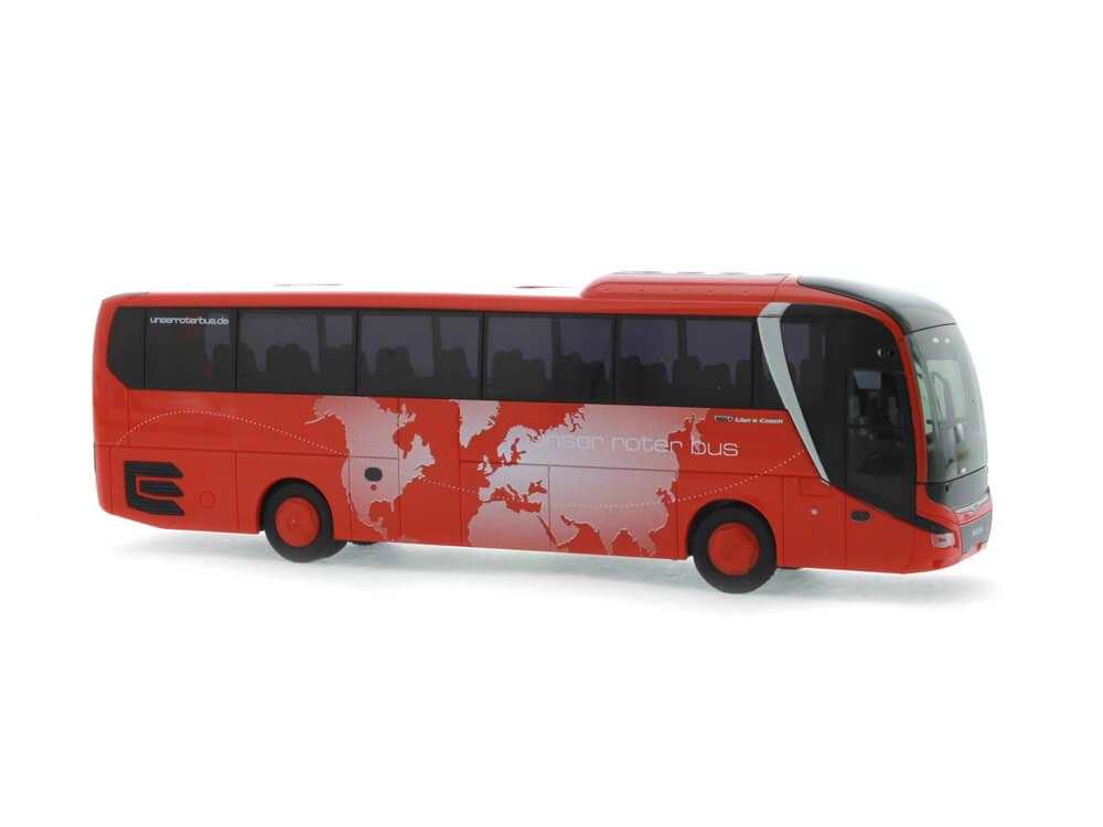 Rietze 74821 MAN Lion´s Coach ´17 Unser Roter Bus