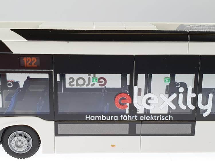 2002 Elias Mercedes eCitaro VHH Hamburg Wg Rietze Sondermodell 10188