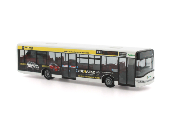 Rietze Stadtbus Solaris Urbino 12 ´14 Stadtbus Weiden Opel Franke 73026
