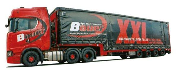 jumbo-ga-ksz Bauer 9272.81 Awm camiones scania CS HD//aerop